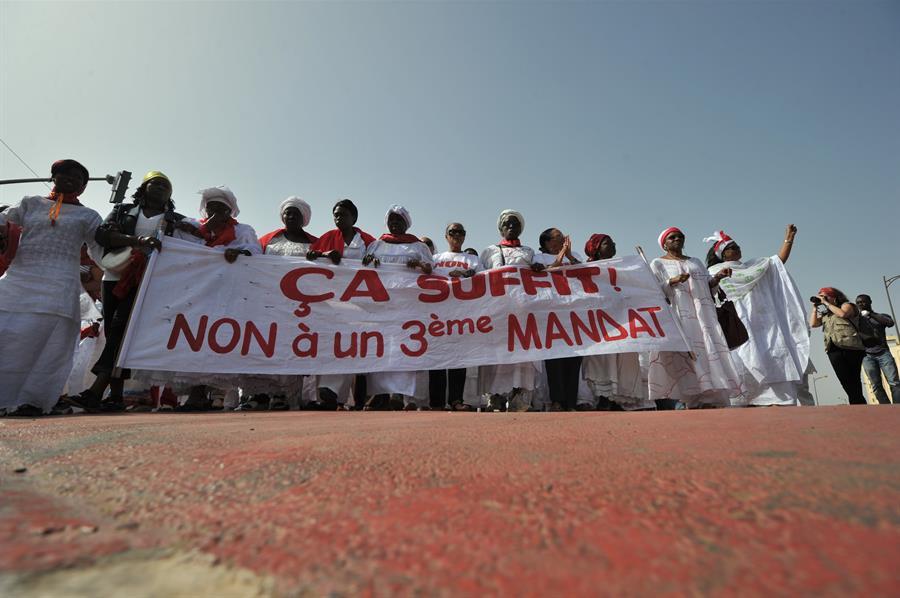 Getty Images Proteste Donne Senegalesi Contro Terzo Mandato Presidente Wade Nel 2012