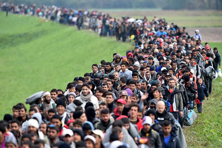 Migrants Slovenia