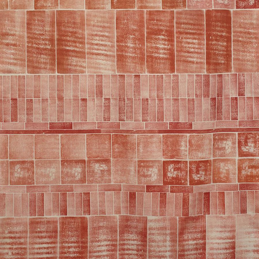 Block Printed Fabric Brick Print 2 (1)