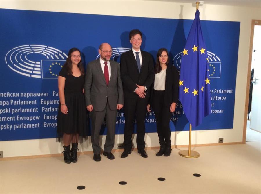 AIESEC Presidente Turrin Schulz