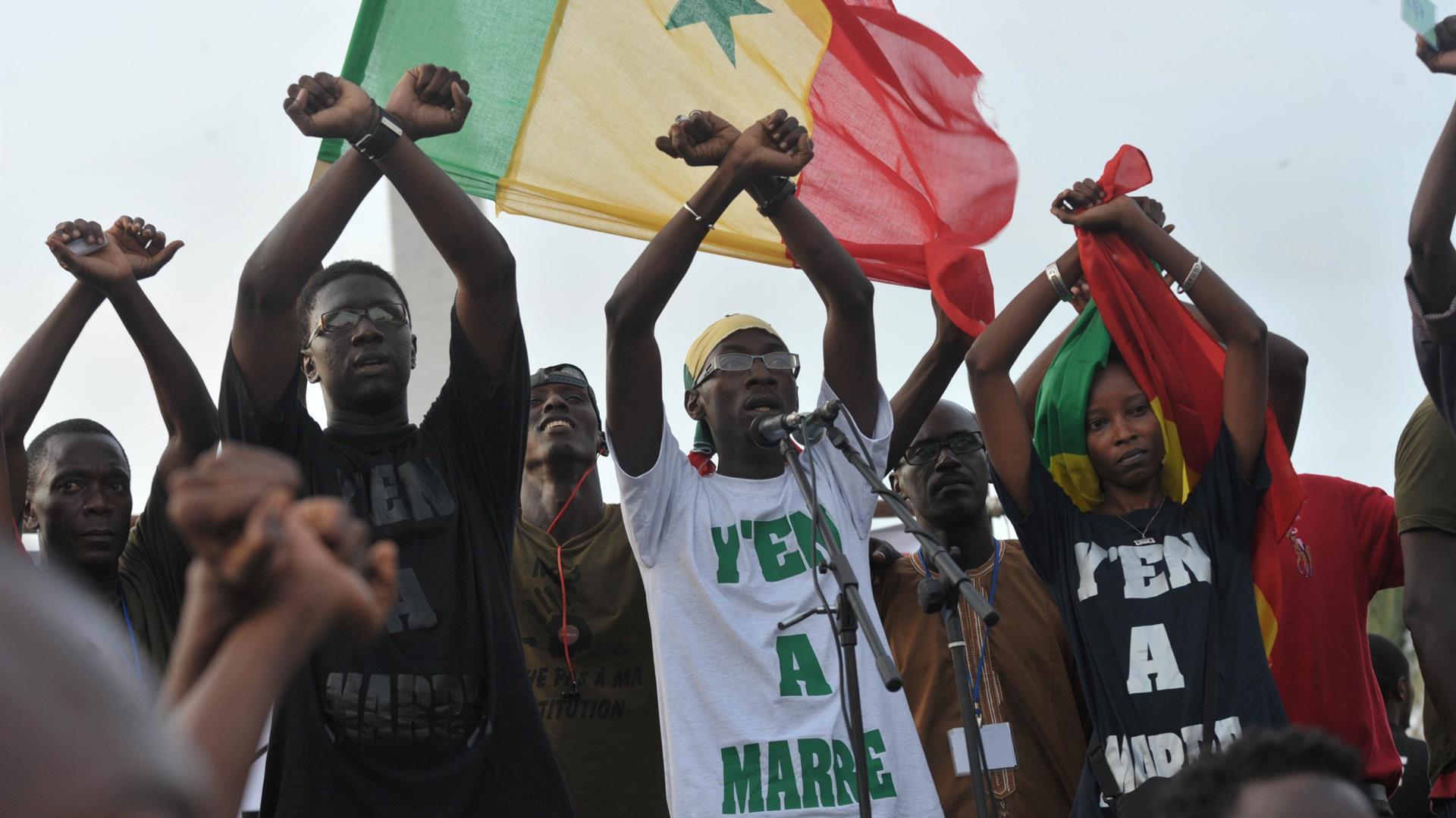 Y'en A Marre Senegal Seyllou Getty Images